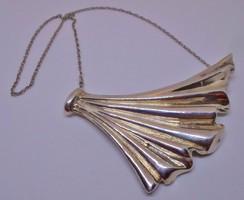 Szépséges antik art deco  ezüstnyakék