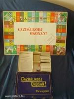 Régi ritka Gazdálkodj Okosan! - 1960-as évekből Rózsaszín kockás!