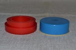 2 db retro műanyag össze csukható pohár  ( DBZ 0095 )