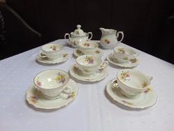 Seltmann Weiden rózsás teás készlet   / 1243