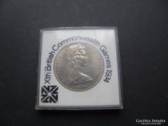 One dollar, 1 dollár New Zealand 1974 Elizabeth II. (22.) R!