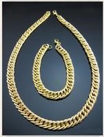 Aranyozott  nyaklánc-karkötő szett ABSZ-T01