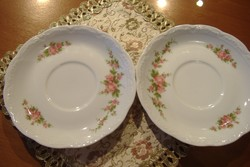 Bavaria szép rózsás tányérkák (2 db)