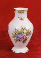 Viktória mintás Herendi váza - 17 cm