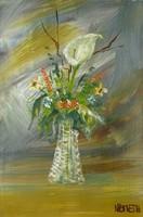 0P239 Németh jelzéssel: Virágcsokor vázában