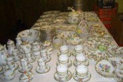 Antique! Luxury 320 pieces.Herendi Victorian Porcelain Collection!