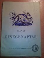 Bianki-Cinegenaptár 1954