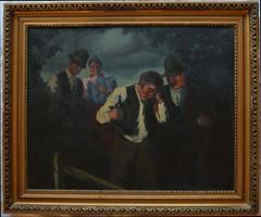 Probek Alajos festmény