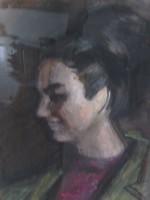 Baranyó Sándor: Sz.G. portréja