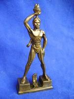 Tömör bronz vagy réz Rodoszi kolosszus