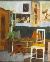 Magyar festő, 1955 : Enteriőr
