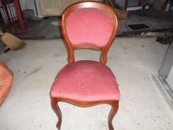 Bordó szék