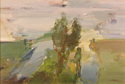 Magyar festő, XX. század második fele : Sziget