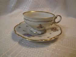 Eladó antik hibátlan Hutschenreuther csésze kistányérral