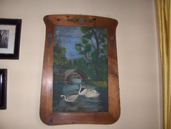 Eredeti Bidermeier festmény