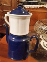 Régi teás kanna tea szűrővel
