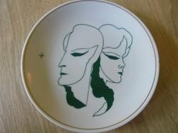 Hollóházi porcelán tányér Limited edition