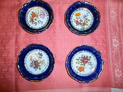 4 db. gyönyörű porcelán  tál, tányér