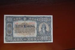 1000 koronás 1923-as!