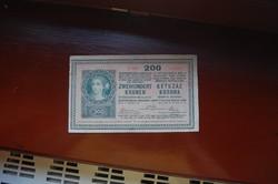 1918-as 200 koronás!