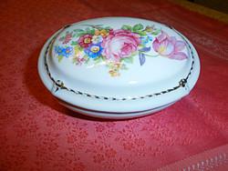 Zsolnay porcelán ékszertartó szelence