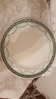 NYÁRI AKCIÓ -Antik fajansz tál/tányér