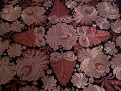 Szecessziós Ó MATYÓ teritő selyem himzett   múzeális az 1920-30-as évekből
