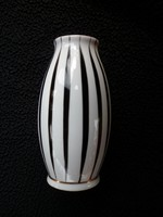 Hollóházi art deco váza