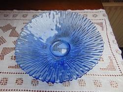 Kék üveg tál / 1269