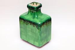 Zöld kerámia váza