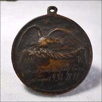 Turul Tekéző Szakosztály 1938 bronz kitüntetés