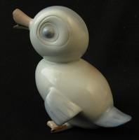 Ritka aquincumi porcelán kiskacsa figura