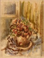 Pelrus van Assche : Virágcsendélet