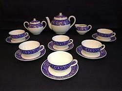 Zsolnay teáskészlet, teás készlet, tea készlet