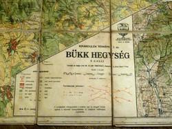 Régi térkép , Bükk