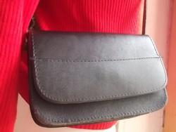 Bőr női válltáska-retikül-kézi táska