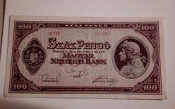 1945-ös 100 Pengő EF