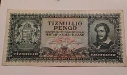 1945-ös 10 Millió Pengő VF+