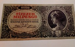 1946-os 10000 MilPengő VF+