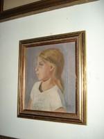 Pólya Iván: Női portré