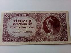 1946-os 10000 B.-Pengő VF