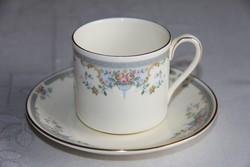 Royal Doulton 'Juliet' kávés csésze alátéttel