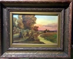 Meseszép festmény- meseszép keretben