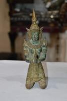 Indonéz bronz figura