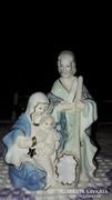 Csodálatos Porcelán Szent Család Világítós
