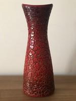 Zsolnay zsugormázas váza.