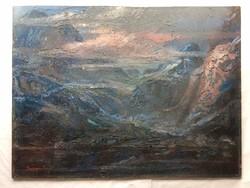 Baranyó Sándor festmény