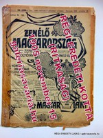 RITKASÁG! ZENÉLŐ MAGYARORSZÁG / Folyóírat és Kotta1905november15RÉGI ÚJSÁG245