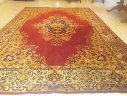 Gyönyörű szép Keshan nemes gyapjú perzsa szőnyeg