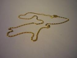 Gold filled nyaklánc, lapos